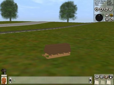 Logging Sled http://www.angelfire.com/planet/trainz/test_track/index.album